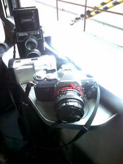 カメラ3台で旅でてます
