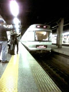 カシオペアなう #乗り鉄