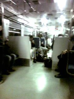 トンネル夜汽車みたいなう