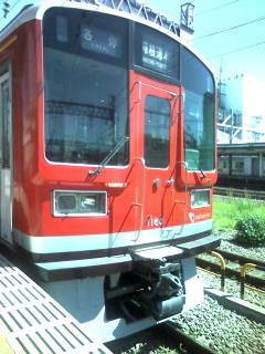 赤い小田急1160<br />  形なう